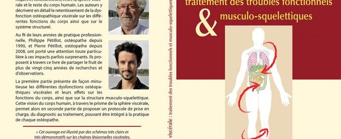 Couverture du livre Ostéopathie viscérale par Pierre Pétillot