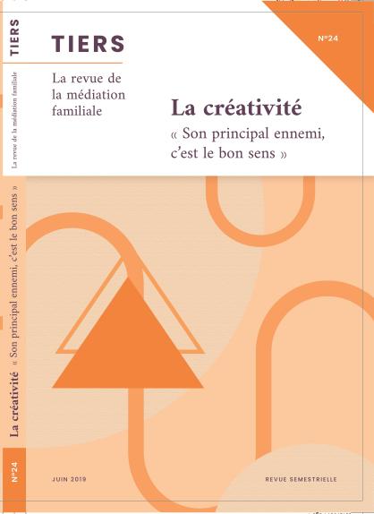 Revue Tiers sur la médiation familiale, article par Pierre Pétillot ostéopathe hypnothérapeute